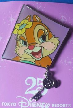 HTF Disney Pin TDS Japan Clarice Grand Finale Dream Goes On LE OC Dangle