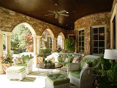 Pretty arches and columns for the patio.