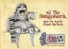 #CROWDFUNDING #VALENCIA #MASCLETA #FALLAS #FALLERA #ZOMBI #JOC #JUEGO - El tio Sangonera del joc La Fallera Calavera d'Enric Aguilar: el joc de cartes valencià. Un joc d'estratègia en valencià destinat a tots els públics que parodia elements del nostre folklore, cultura popular i mitologia. falles falla valencia fallera zombi zombie mascleta Crowdfunding Verkami http://www.verkami.com/projects/7153-fallera-calavera