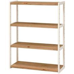Tall Wide Bookcase Shelving Storage Unit 70cm White Matt Ringo New