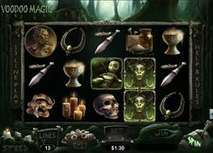 Voodoo Magic, new Realtime Gaming slot game, now online