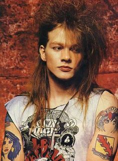 Axl Rose like he looked the first time I saw Guns 'n Roses in concert in '88. #rock #rockstar #music