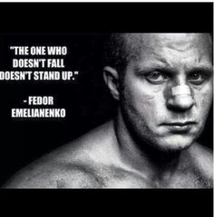 NBA had Jordan, Golf has Woods, NFL had Rice, NHL Gretzky, Pelè was Soccer's greatest,  No doubt Ali for Boxing, in MMA, NO ONE HAS DONE WHAT THIS MAN HAS DONE! Probably will never be duplicated either. Fedor Emelianenko, 1 in 6,000,000,000