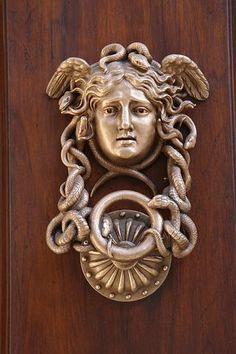Door Knocker, The Door, Entrance