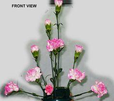 Contemporary Flower Arrangements, Flower Arrangement Designs, Flower Designs, Altar Flowers, Church Flower Arrangements, Floral Arrangements, Deco Floral, Floral Foam, Arte Floral