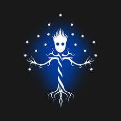 Awesome 'Guardian+tree+of+the+galaxy' design on TeePublic!