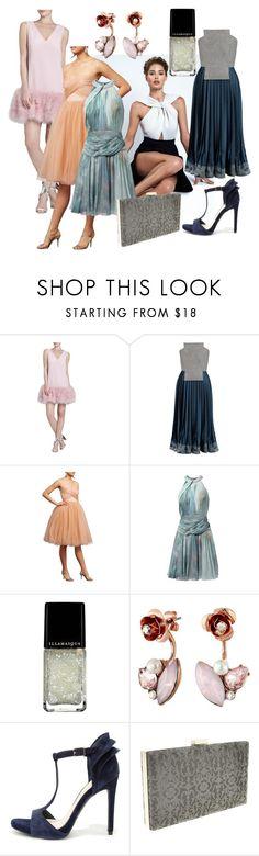 dresses by dodo85 on Polyvore featuring Vionnet, Donna Morgan, BCBGMAXAZRIA, Jessica Simpson, Betsey Johnson and Illamasqua