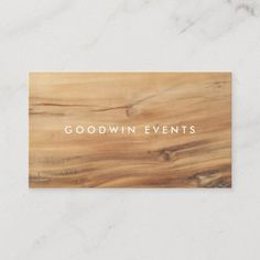 Light Wood Background, Wood Business Cards, Modern Typography, Business Card Design, Adulting, Growing Business, Chic, Butcher Block Cutting Board, Bamboo Cutting Board