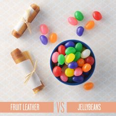 Healthy Swaps for Your Favorite Easter Treats: Instead of Jellybeans, Try Fruit Leather   CookingLight.com