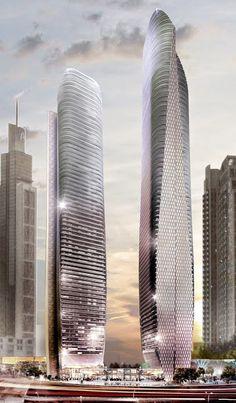 Amazing Architects Dubai Towers, Dubai, UAE