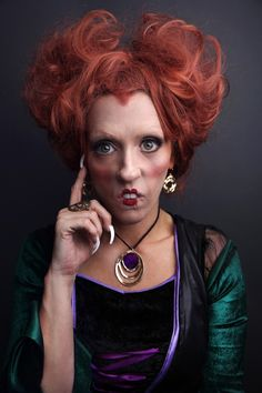 Dress up as the witches from Hocus Pocus this Halloween.