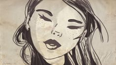 Ilustración pincel textura de papel Ilustración acrílico #diseño #ilustracion #arte #acrilico #boceto #dibujo #pintura #digital # ilustraciondigital