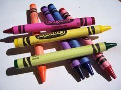 DIY- Homemade Jumbo crayons