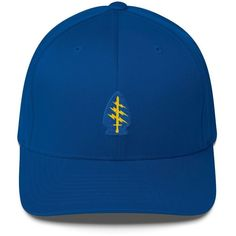 Embroidered Flexfit Special Forces Patch Low Profile Cap