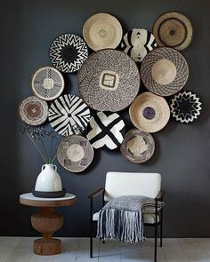 The Best Ways to Decorate With Baskets OR MAYBE MY PLATES