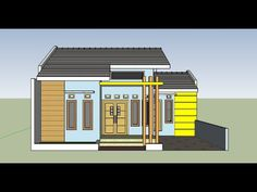60 Model Rumah Terbaru Ideas In 2020 House Styles Model House Plan Small House Communities