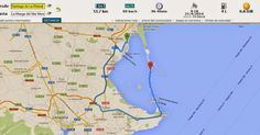 Ferry Mar Menor - Murcia: Distancia Santiago de la Ribera a La Manga del Mar Menor