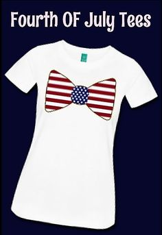 Fourth of July Women's Tee Shirt.... Happy 4th of July!