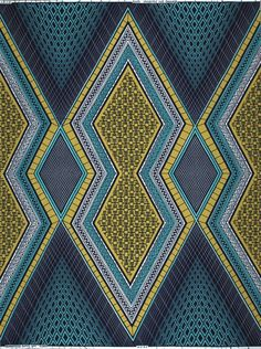 Blue And White, Yellow, African Fabric, New Product, Wax, Colours, Quilts, Blanket, Design