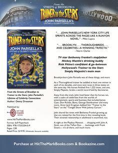 Book & author one sheet / John Parisella's Lifetime of Celebrity Connections by Denny Dressman