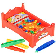 "Jake: Pavilion Bed Bugs Game - Toys R Us - Toys ""R"" Us (good for fine motor)"