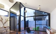 this looks like my front foyer on my barn! Fitzroy North House / Nic Owen Architects | ArchDaily