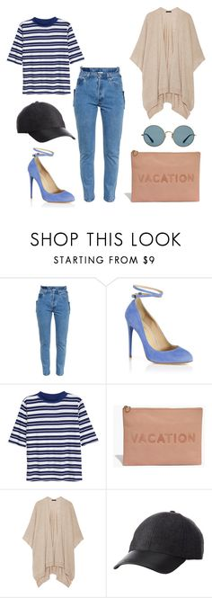 """""""Sem título #1900"""" by dani-gracik ❤ liked on Polyvore featuring Vetements, Aquazzura, H&M, Madewell, The Row, Charlotte Russe and Ray-Ban"""