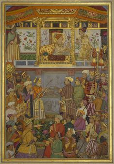Jahangir presents Prince Khurram with turban ornament (12 October 1617)
