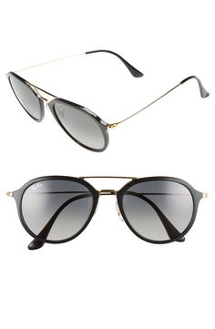 3c08e24b679 Ray-Ban 53mm Aviator Sunglasses available at  Nordstrom Brow Bar