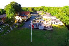 Hotel Skovly, Rønne, Bornholm. In the forrest - 125 meters from the beach.