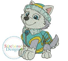 Machine Embroidery Applique, Embroidery Files, Diy Router Table, Paw Patrol Coloring, Painted Rocks, Smurfs, Pattern Design, Diy And Crafts, Cristina