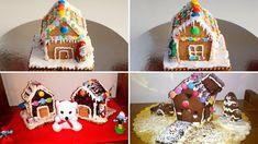 Χριστουγεννιάτικο Σπιτάκι με Πτι Μπερ - Εύκολο Μπισκοτόσπιτο Gingerbread, Desserts, Blog, Recipes, Youtube, Tailgate Desserts, Deserts, Ginger Beard, Postres