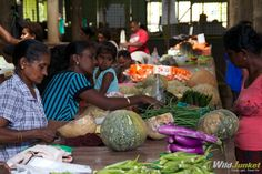Photoblog: Local Market Flavors in Nadi Town, Fiji via @WildJunket