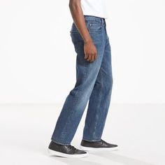 Levi's 550 Relaxed Fit Stretch Jeans (Big & Tall) - Men's 32x38
