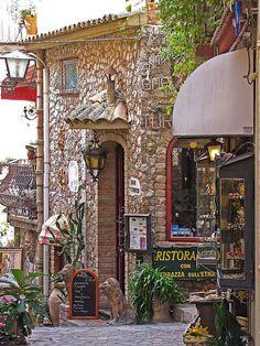 Castelmola, Sicily, Italy That's it I have to go to Italy #messina #sicilia #sicily