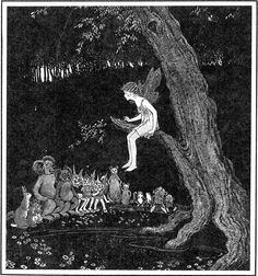 Anne and the Goblins - The Enchanted Forest, 1921
