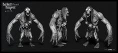 ArtStation - Darkest Dungeon Fan Art - WIP, Thomas Daïdé