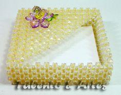 Krabička na ubrousky * z korálků