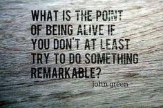 Be Remarkarkable