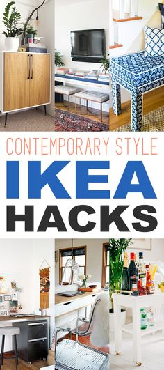 Today we are going to check out some really cool Contemporary Style IKEA Hacks. They all have a sleek and pleasing style to them and they are all so versatile. Items such a a Contemporary Console Table…a gorgeous Upholstered Bench…a simply amazing Kitchen Island and much much more. So take a few minutes out of …