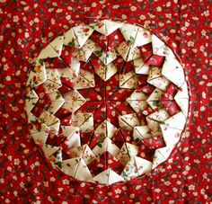 all I need is a little bit of inspiration......: Somerset Patchwork  a bit of a how to