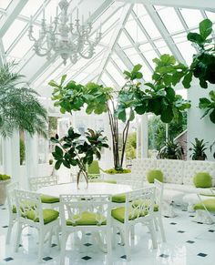 Conservatory dining, use it daily during colder or bad weather otherwise eat al fresco every chance you get!