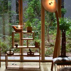 Lionel Truntzer – Atelier A RawMat suspension en bois en courbé