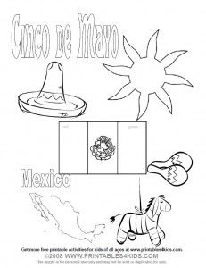 enjoy these printable fiesta coloring pages  including
