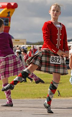 On the right - kilt with red jacket #stewart #red #tartan