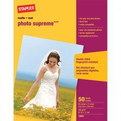 68a9e4ada4 Staples® photo supreme x paper