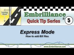 Embrilliance Quick Tip #5 - How to Install BX fonts - YouTube