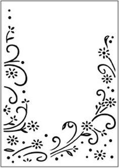 "Darice ""Floral Border"" Embossing Folder"