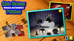 Complete jigsaw puzzles while learning about musical instruments and identifying the sounds they make.<p>*** From the award winning developer of the Connect the Dots educational game series ***<p>This educational and fun App helps young children learn the common musical instruments and the sounds that each one makes while developing their hand eye coordination and puzzle solving skills. It's a unique early learning game with realistic sounds and photo quality pictures which toddlers…