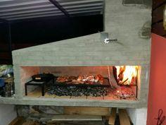 Resultado de imagen para PARRILLERO URUGUAYO Outdoor Grill Space, Outdoor Oven, Parilla Grill, Argentine Grill, Backyard Kitchen, Fire Cooking, Bbq Area, Grill Design, Outdoor Landscaping